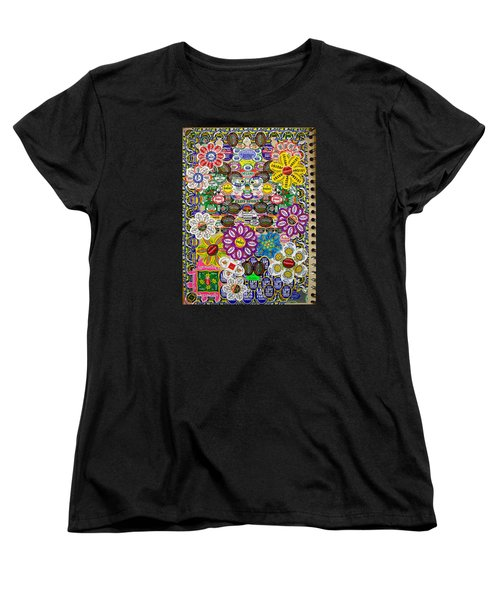Sketchbook 3 Pg Back Of Cover Women's T-Shirt (Standard Cut) by Cliff Spohn