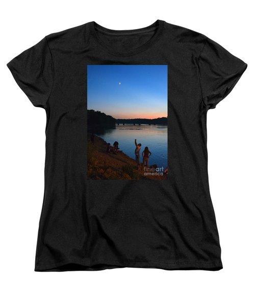 Skywatchers Women's T-Shirt (Standard Cut) by Sue Stefanowicz