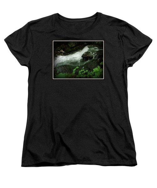Slide Women's T-Shirt (Standard Cut) by Priscilla Richardson