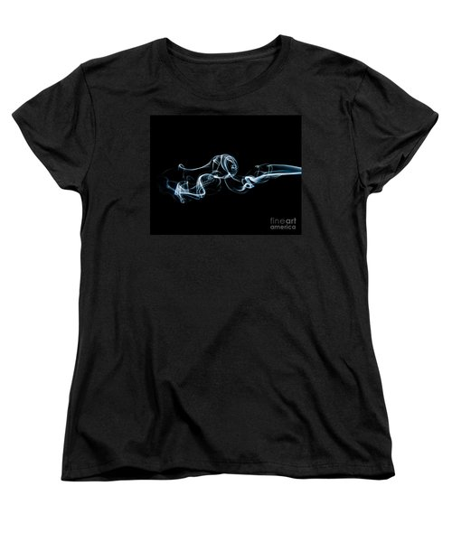 Women's T-Shirt (Standard Cut) featuring the photograph Smoke-3 by Larry Carr