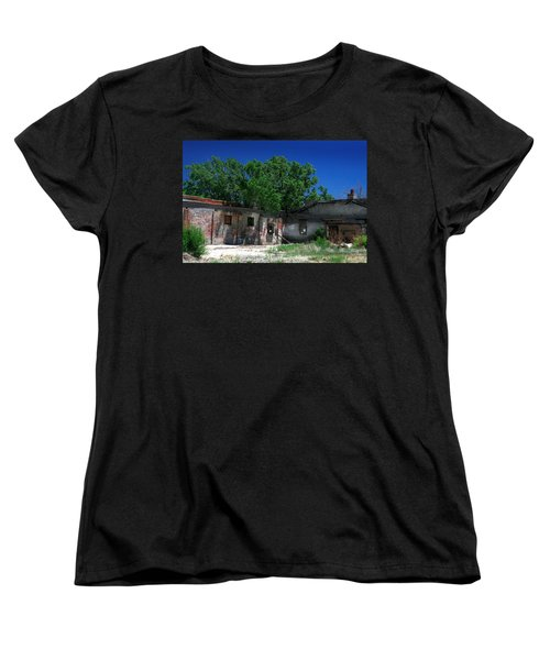 Women's T-Shirt (Standard Cut) featuring the photograph Somewhere On Hwy 285 Number Three by Lon Casler Bixby