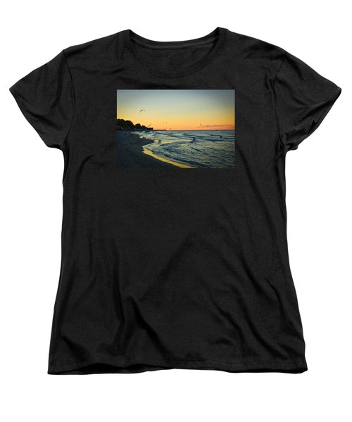 Women's T-Shirt (Standard Cut) featuring the photograph Spirit's Journey by Sara Frank