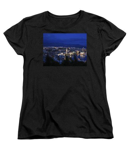 Women's T-Shirt (Standard Cut) featuring the photograph Split Croatia by David Gleeson
