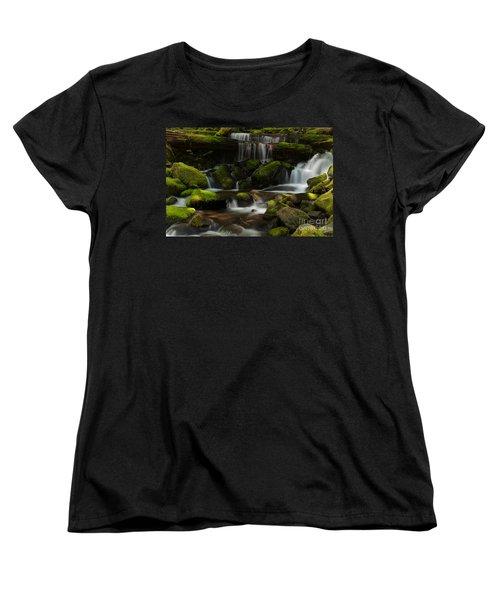 Spotlights Women's T-Shirt (Standard Cut) by Mike Reid