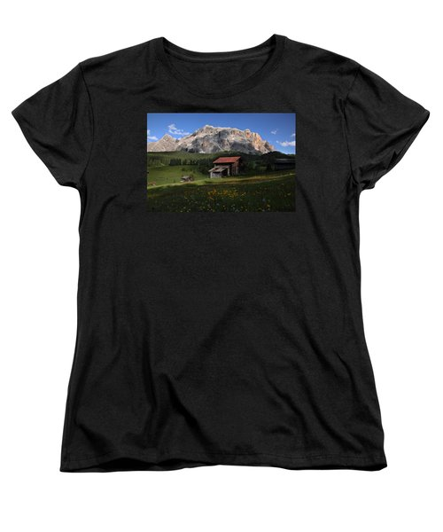 Women's T-Shirt (Standard Cut) featuring the photograph Spring At Santa Croce by Susan Rovira