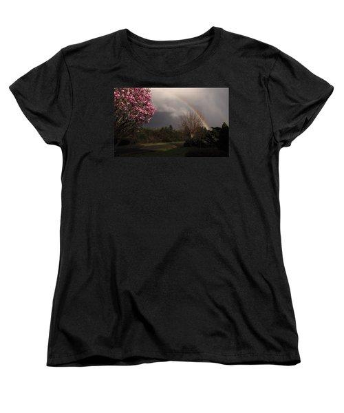 Spring Rainbow Women's T-Shirt (Standard Cut)
