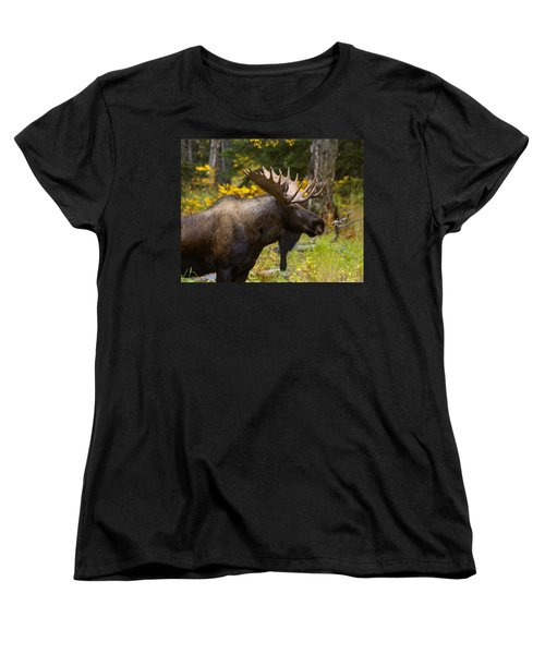 Women's T-Shirt (Standard Cut) featuring the photograph Standing Proud by Doug Lloyd