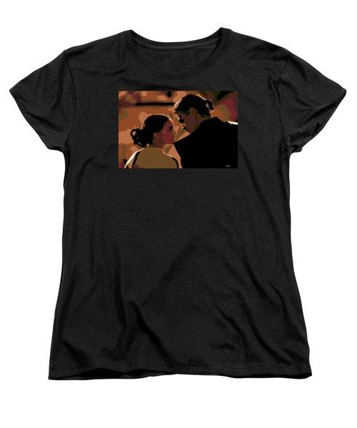 Star Crossed Lovers Women's T-Shirt (Standard Cut) by George Pedro