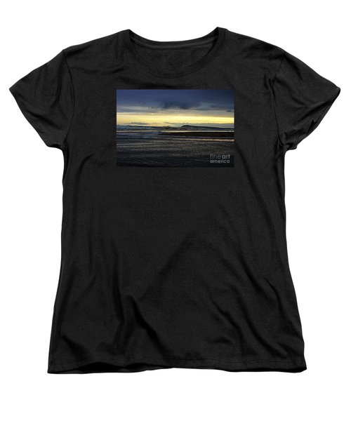 Women's T-Shirt (Standard Cut) featuring the photograph Stormy Morning 2 by Blair Stuart