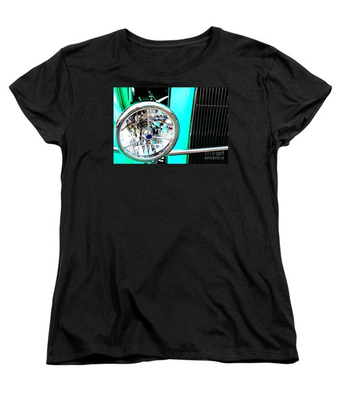 Women's T-Shirt (Standard Cut) featuring the digital art Street Rod Beauty by Tony Cooper