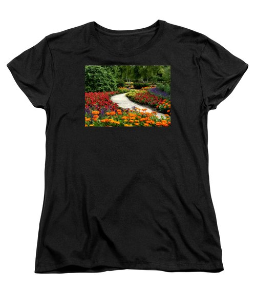 Summer In Cantigny 1 Women's T-Shirt (Standard Cut) by Ely Arsha
