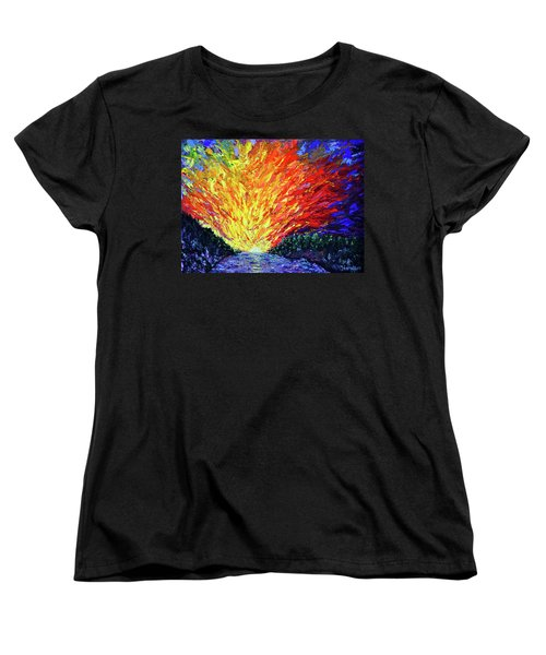 The Second Coming  Women's T-Shirt (Standard Cut) by Stan Hamilton