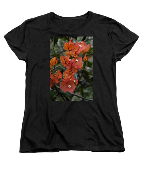 Women's T-Shirt (Standard Cut) featuring the photograph Sundown Orange by Steven Sparks