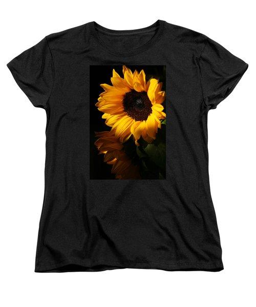 Sunflowers Women's T-Shirt (Standard Cut) by Dorothy Cunningham
