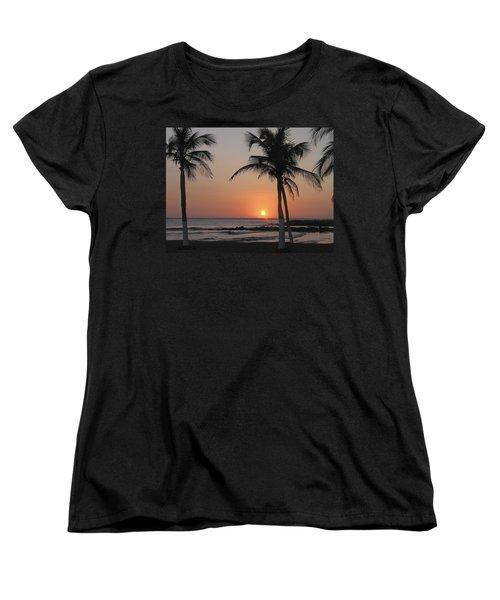 Women's T-Shirt (Standard Cut) featuring the photograph Sunset by David Gleeson