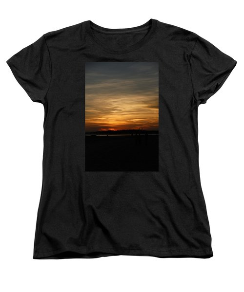 Women's T-Shirt (Standard Cut) featuring the photograph Sunset In Pastels by Fotosas Photography
