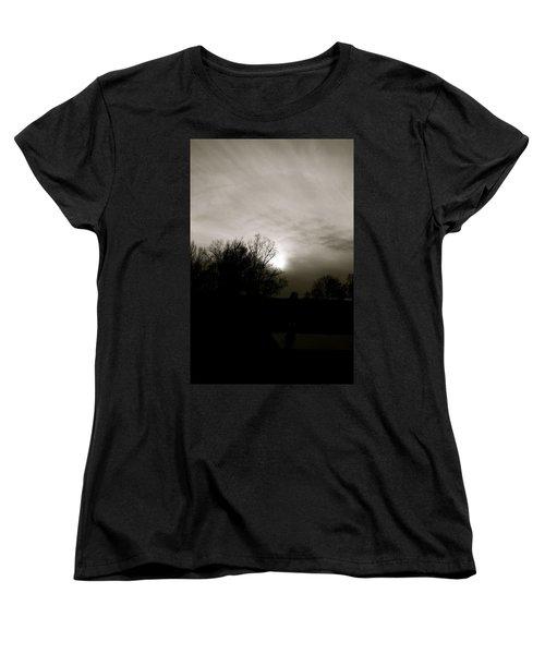 Women's T-Shirt (Standard Cut) featuring the photograph Sunset by Kume Bryant