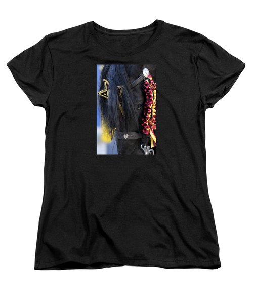 sweetheart - a Menorca race horse with traditional multicolor ribbons and mirror star Women's T-Shirt (Standard Cut)