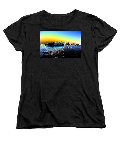 Sydney In Color Women's T-Shirt (Standard Cut) by Douglas Barnard