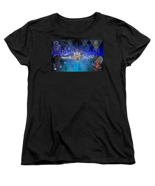 Synesthetic Dreamscape Women's T-Shirt (Standard Cut)
