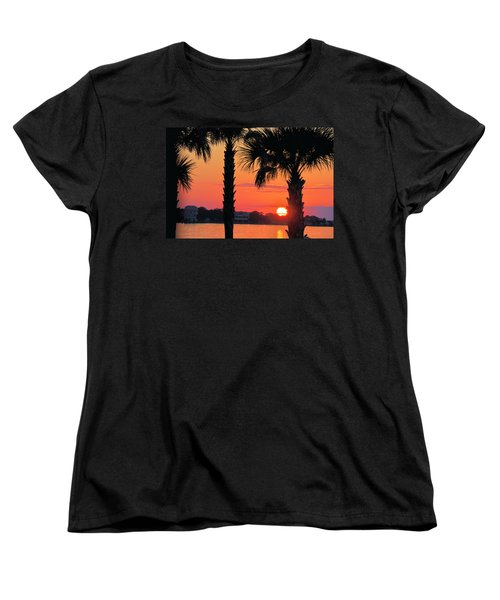 Women's T-Shirt (Standard Cut) featuring the photograph Tangerine Dream by Jan Amiss Photography