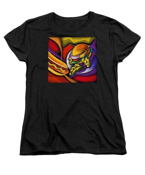 Lunchtime Women's T-Shirt (Standard Cut) by Leon Zernitsky