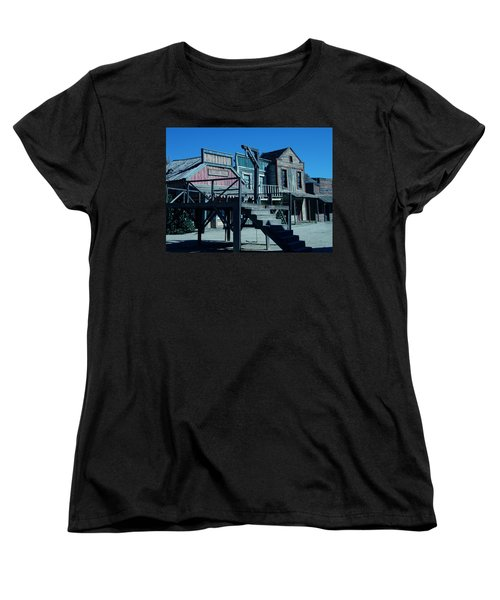 Taverna Western Village In Spain Women's T-Shirt (Standard Cut) by Colette V Hera  Guggenheim