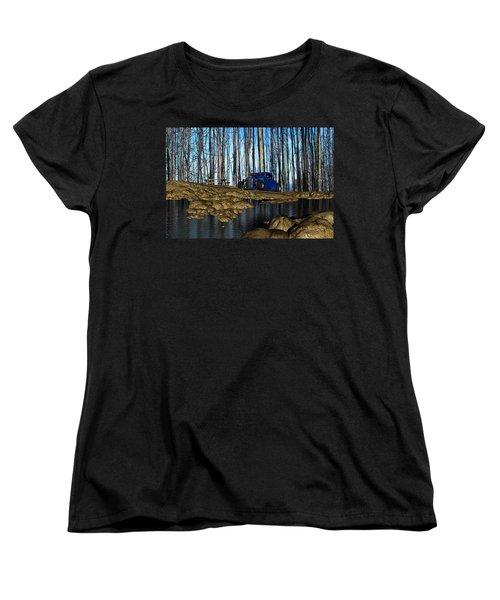 Tender Years Women's T-Shirt (Standard Cut) by Robert Orinski