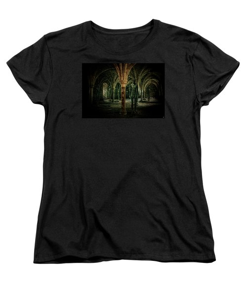 Women's T-Shirt (Standard Cut) featuring the photograph The Crypt by Chris Lord