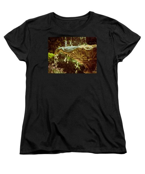 The Fountain Women's T-Shirt (Standard Cut) by Jessica Brawley