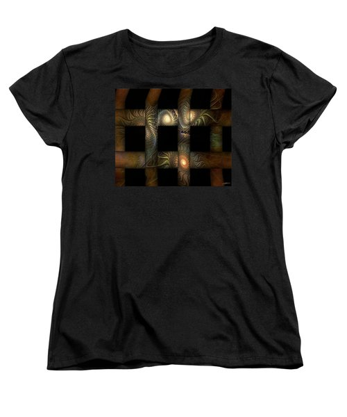 Women's T-Shirt (Standard Cut) featuring the digital art The Indomitability Of The Idea by Casey Kotas