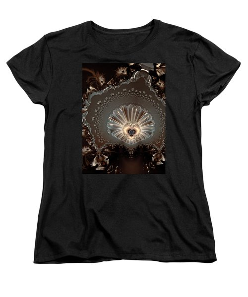 The Lady And Her Lace Women's T-Shirt (Standard Cut) by Claude McCoy