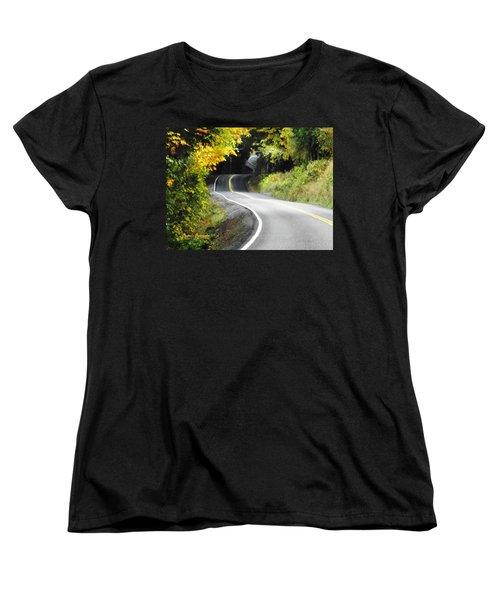 The Low Road Women's T-Shirt (Standard Cut) by Sadie Reneau