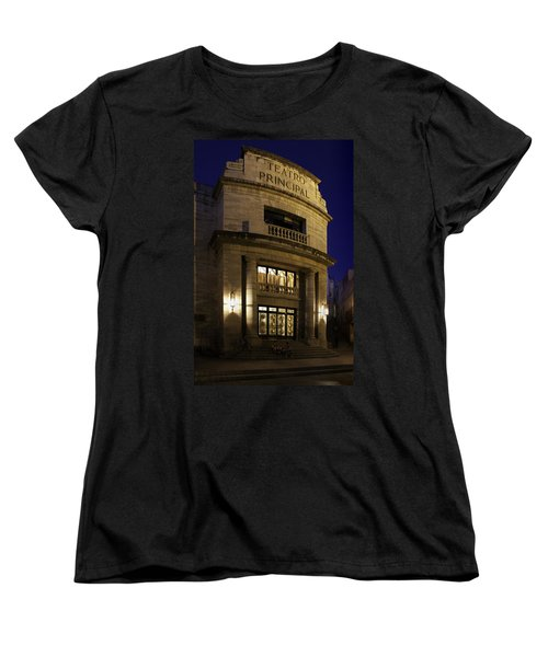 Women's T-Shirt (Standard Cut) featuring the photograph The Meeting Place by Lynn Palmer