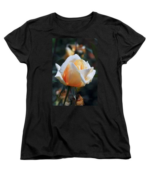 Women's T-Shirt (Standard Cut) featuring the photograph The Rose by Fotosas Photography