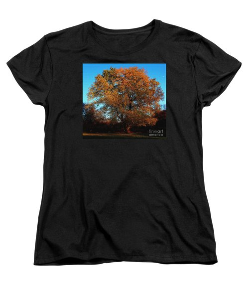 Women's T-Shirt (Standard Cut) featuring the photograph The Tree Of Life by Davandra Cribbie