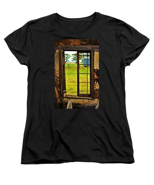 Women's T-Shirt (Standard Cut) featuring the photograph The View From Within by Blair Stuart