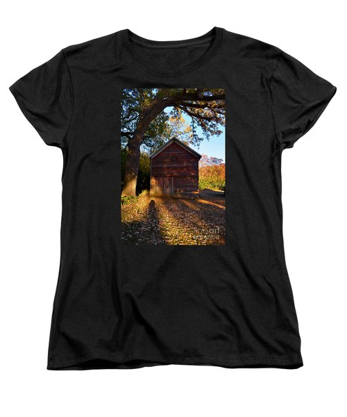 The Weathered Shed Women's T-Shirt (Standard Cut) by Sue Stefanowicz