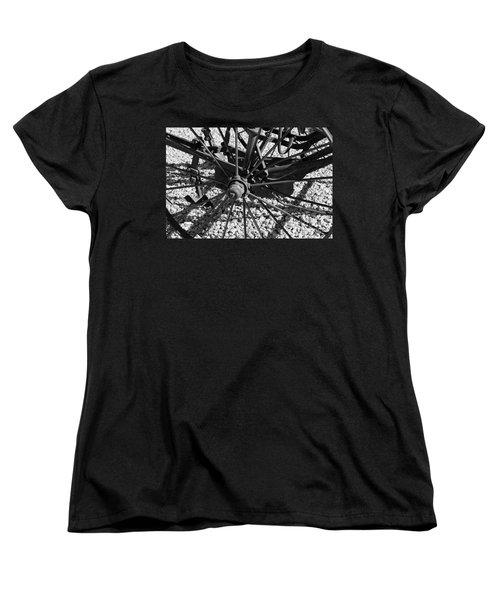 The Wheel Women's T-Shirt (Standard Cut) by Pamela Walrath