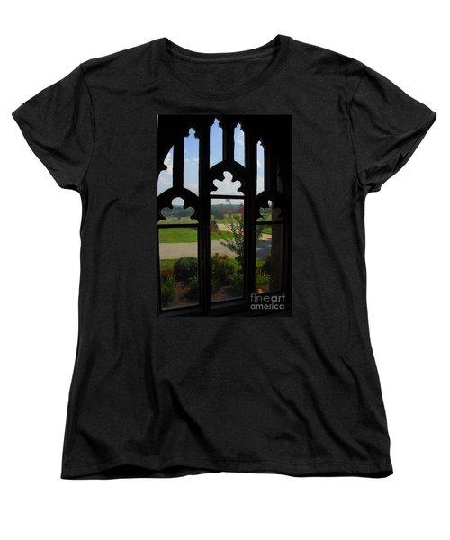 Through The Chapel Arches Women's T-Shirt (Standard Cut) by Cindy Manero