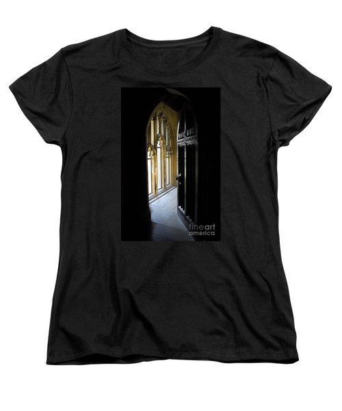 Thru The Chapel Door Women's T-Shirt (Standard Cut) by Cindy Manero