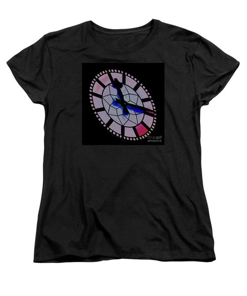 Women's T-Shirt (Standard Cut) featuring the photograph Time Waits For No Man by Blair Stuart