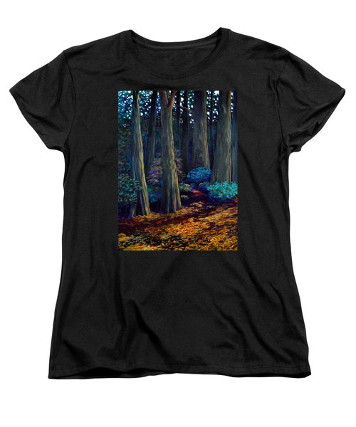 To The Woods Women's T-Shirt (Standard Cut) by Jeanette Jarmon