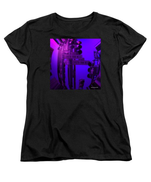 Women's T-Shirt (Standard Cut) featuring the photograph Traffic Stop by George Pedro