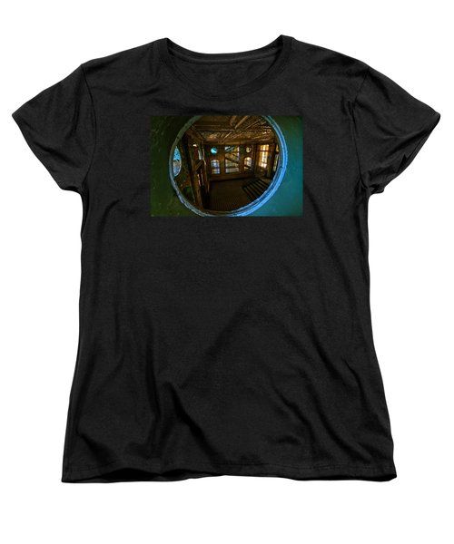 Trough The Round Window Women's T-Shirt (Standard Cut) by Nathan Wright