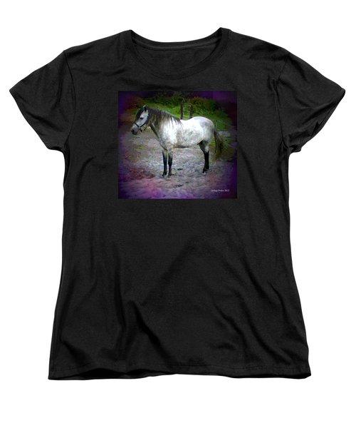 Women's T-Shirt (Standard Cut) featuring the photograph Vash The Stampede by George Pedro
