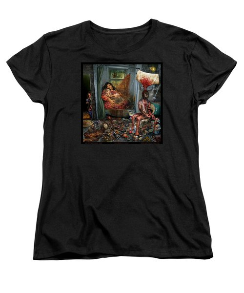 Vile World To View Women's T-Shirt (Standard Cut) by Tony Koehl