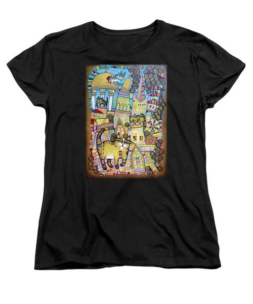 Villages Of My Childhood Women's T-Shirt (Standard Cut)