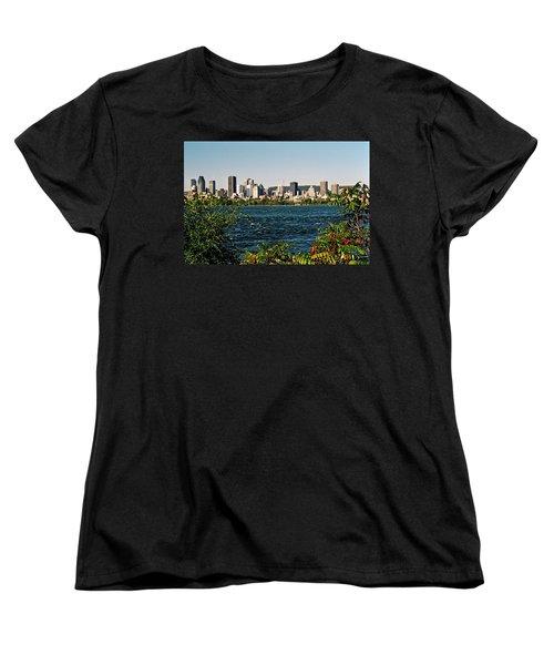 Women's T-Shirt (Standard Cut) featuring the photograph Ville De Montreal by Juergen Weiss