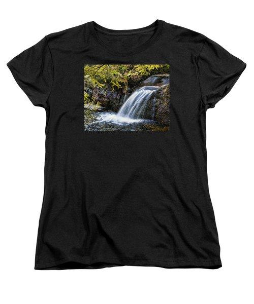 Women's T-Shirt (Standard Cut) featuring the photograph Waterfall by Hugh Smith